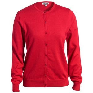 Edwards Ladies' Jewel Neck Fine Gauge Cardigan Sweater