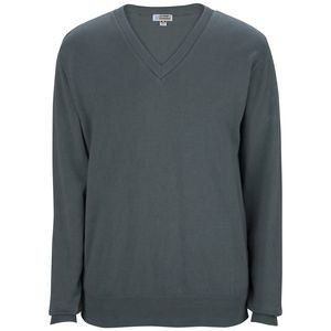 Edwards Unisex Cotton Blend V-Neck Sweater