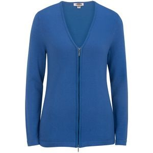 Edwards Ladies' Full Zip V-Neck Cardigan Sweater