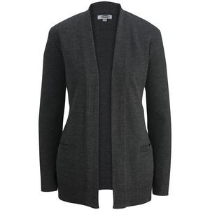 Edwards Ladies' Open Cardigan Acrylic Sweater