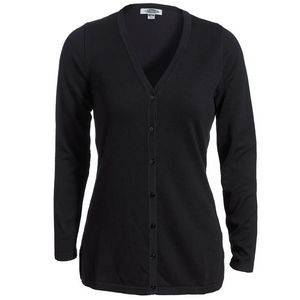 Edwards Ladies' Fine Gauge V-Neck Cardigan Sweater