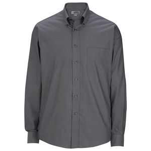 Edwards Mens Signature Oxford Non Iron Long Sleeve Dress Shirt w/ Pocket