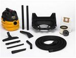 Custom Shop Vac Heavy Duty Portable 5 Gallon Wet/Dry Vacuum