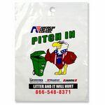 Custom 2.0 Mil. Litter Bags - (9