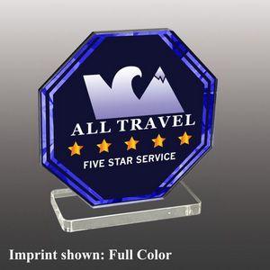 Custom Stock Shaped Full Color Acrylic Awards - Small