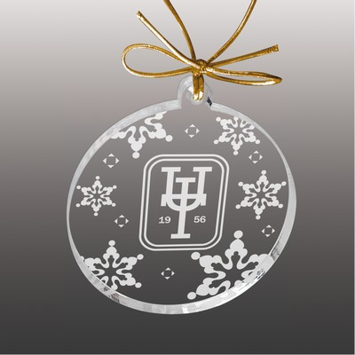 Etched Acrylic Ornament (5 Square Inch)