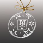 Custom Etched Acrylic Ornament (5 Square Inch)