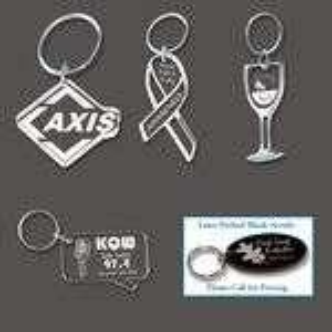 Custom Etched Acrylic Key Tag (5 Square Inch)