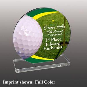 Custom Golf Themed Acrylic Awards