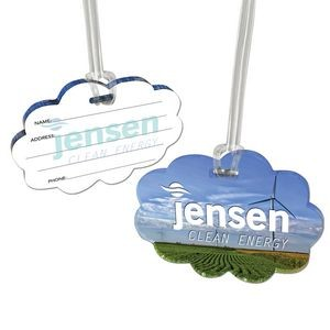 Custom Acrylic Luggage Tag (6 Square Inch)