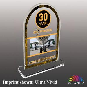 Custom Stock Shaped UV Acrylic Awards - Medium