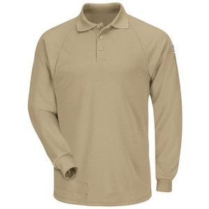 Bulwark® Men's Long Sleeve Classic Polo