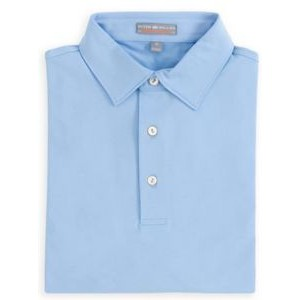 Peter Millar Solid Stretch Short Sleeve Polo Shirt w/ Sean Collar (Basic Core Colors)