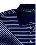 Custom Bobby Jones Flight Stripe Polo Shirt