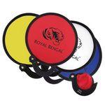 Custom Round Foldable Nylon Fan