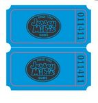 Custom Double Ticket Roll of 2000 w/ Custom Logo on FRONT