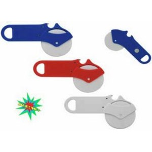 Pizza Cutter Beverage Opener