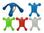 Custom Mini Beaded Key Chain Massager