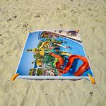 Custom Full Color Full Bleed Sublimated Beach Towel 30