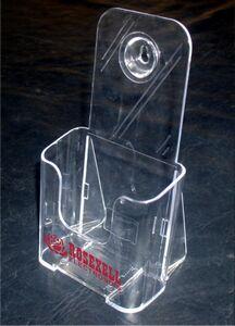 Tri-Fold Acrylic Brochure Holder