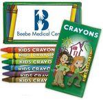Custom Crayon 6-Pack Green Box with logo