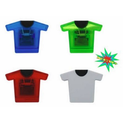 T-SHIRT Shaped Jumbo Magnetic Memo Clip