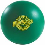 Custom Round Stress Ball - Close Out Green Only