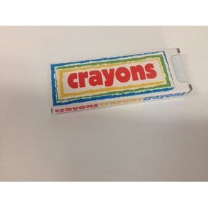 Crayon 4-Pack with logo