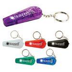 Custom LED Whistle Key Ring