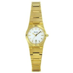 Bulova Ladies' Gold-tone Casual Collection Watch