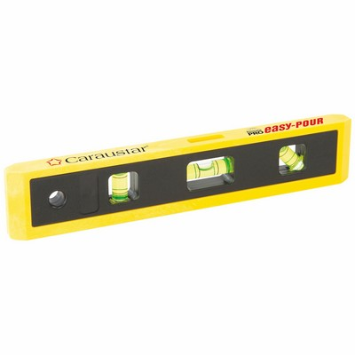 V-Groove Magnetic Torpedo Level w/ Plastic Case (9
