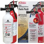 Custom 2-Pack Home & Kitchen Fire Extinguishers