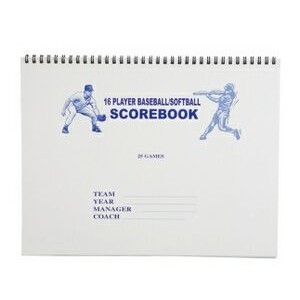 Baseball/Softball Score Book
