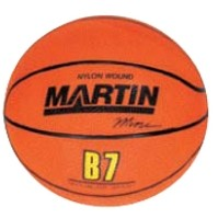 "Orange Mini Basketball (7"")"