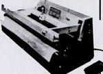 Custom Model W-51-16 Foot Pedal Operated Trimseal Machine