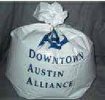 Custom 30 Gallon Custom Imprinted Plastic Trash Bag (30