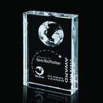 Custom Ambassador Optical Crystal Award (4