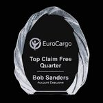 Custom Tottenham Iceberg Crystal Award (4