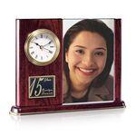 Custom Webster Clock & Picture Frame