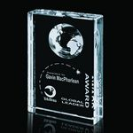 Custom Ambassador Optical Crystal Award (8