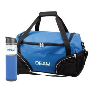 The Highland Duffel/Bottle Set - Blue