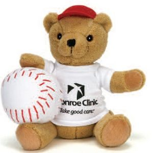 10 Baseball Dressed Bear Stuffed Animal