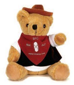 10 Cowboy Bear Stuffed Animal