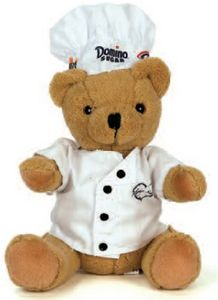 10 Chef Dressed Bear Stuffed Animal