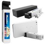 Custom 2200 mAh Power Bank w/Silicone Phone Stand