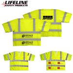 Custom ANSI 3 Yellow Safety Vest