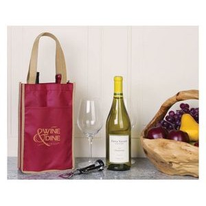 Double Wine Tote Bag (Direct Import-10 Weeks Ocean)