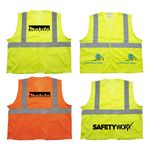 Custom ANSI 2 Yellow Safety Vest (Direct Import-10 Weeks Ocean)