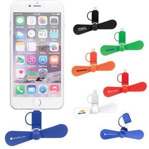 Mini USB Cellphone Fan (Direct Import-10 Weeks Ocean)