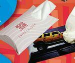 Custom SniftyPak Pocket PillowPak Facial Tissue Paper (15 Count)